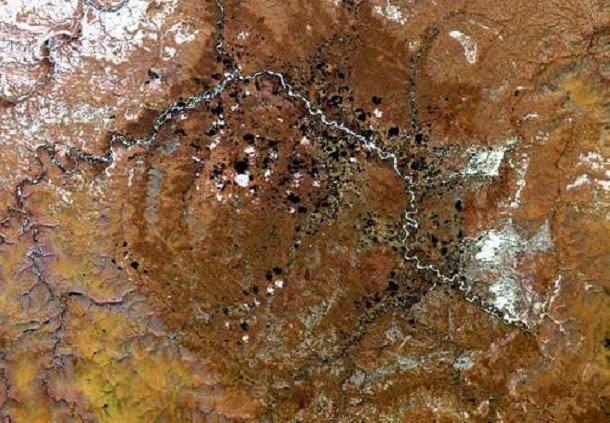 Cratera de Popigai