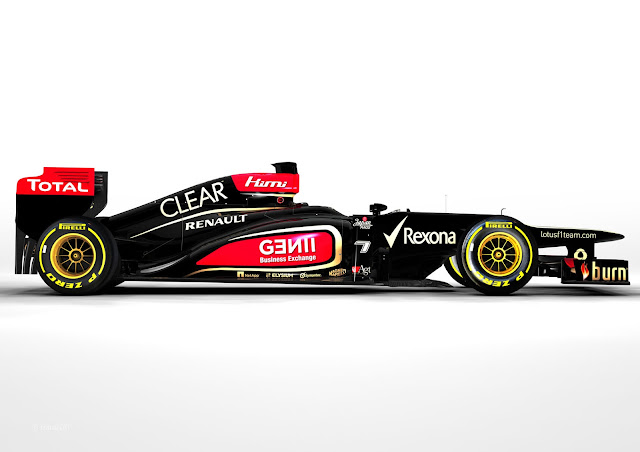 Lotus E21 2013 Formula One Car Launched. Lotus have become the first Formula 1 team to unveil their new 2013 Formula One Car. With the unveiling of the New Lotus E21 F1 car, the Lotus F1 team is all set for the upcoming 2013 Formula One season.