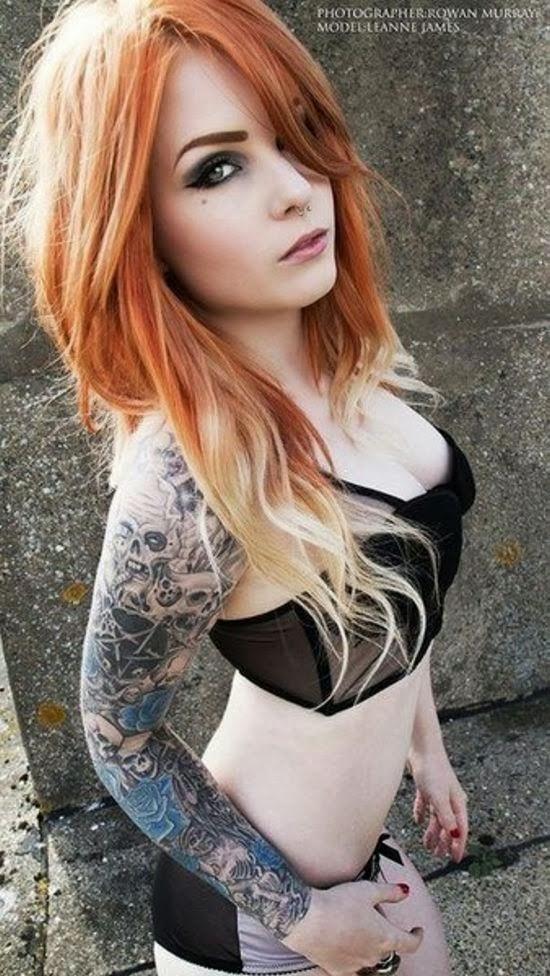 tattoo girls nude sm bamberg
