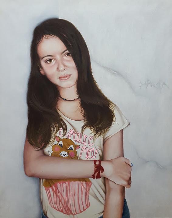 Marta, 13 años.