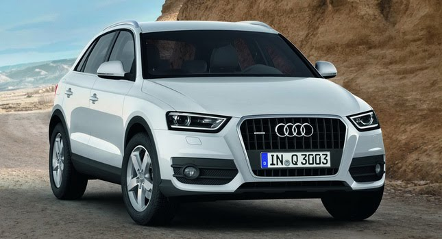 build your brand audi launches compact luxury suv q3 in india. Black Bedroom Furniture Sets. Home Design Ideas