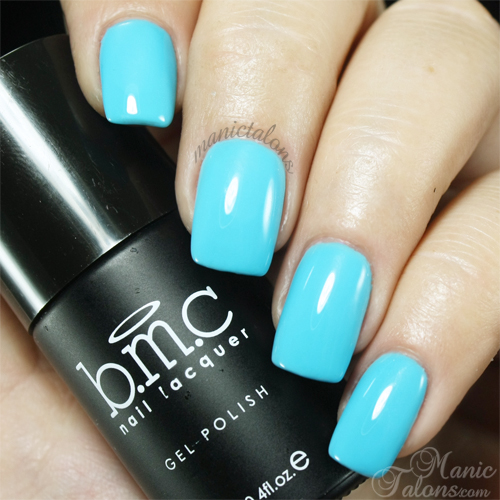 BMC Gel Polish Fringing Waters Swatch