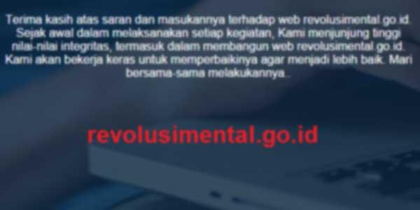 MAHAL. revolusimental.go.id senilai 140 M Tapi...