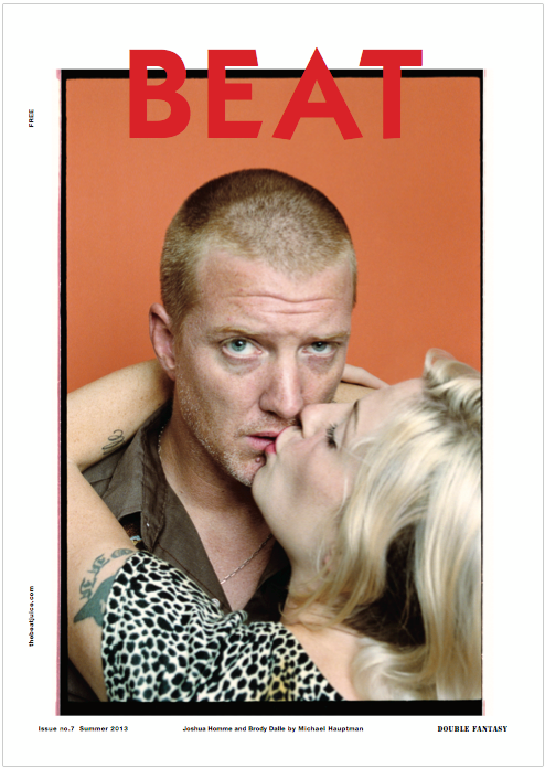 Brody Dalle and Josh Homme on BEAT Magazine