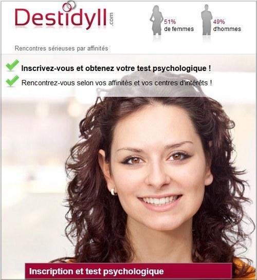 Rencontres par affinité centre d'intérêt profil psychologique test de personnalité