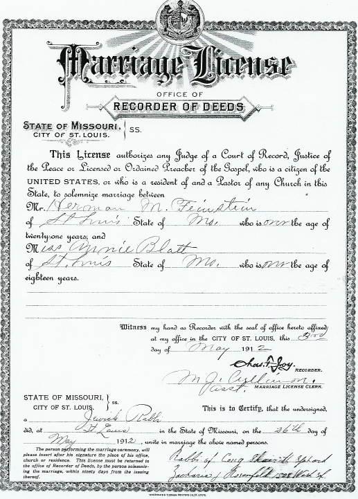 transylvaniandutch: amanuensis monday: marriage license for herman