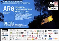 CONGRESO LATINOAMERICANO DE ARQUITECTURA - PREMIO TIL