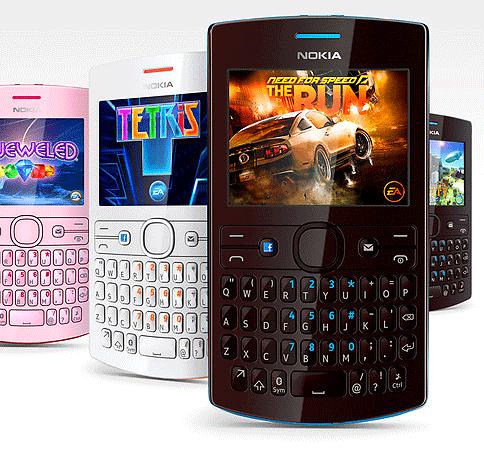 Nokia Asha 205 dual SIM QWERTY mobiles