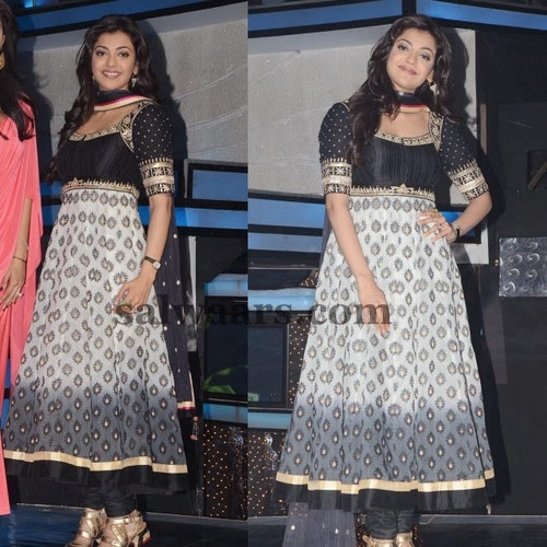 Kajal Printed Anarkali Churidar