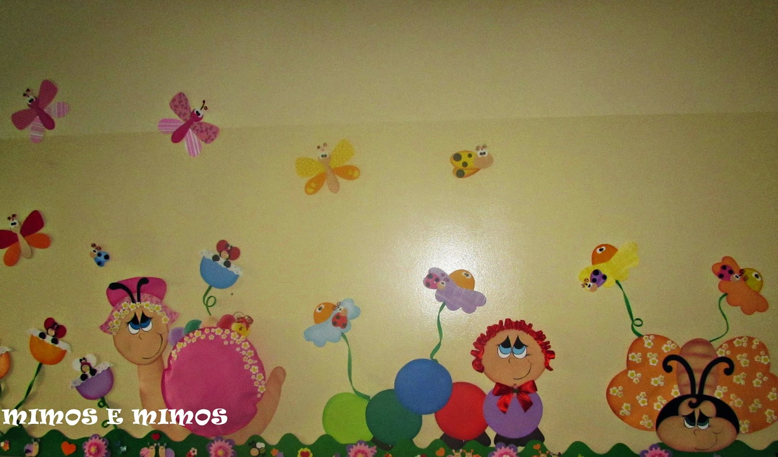 decoracao sala de aula jardim encantado:Mimos e mimos: PAINEL DE SALA DE AULA TEMA JARDIM ENCANTADO