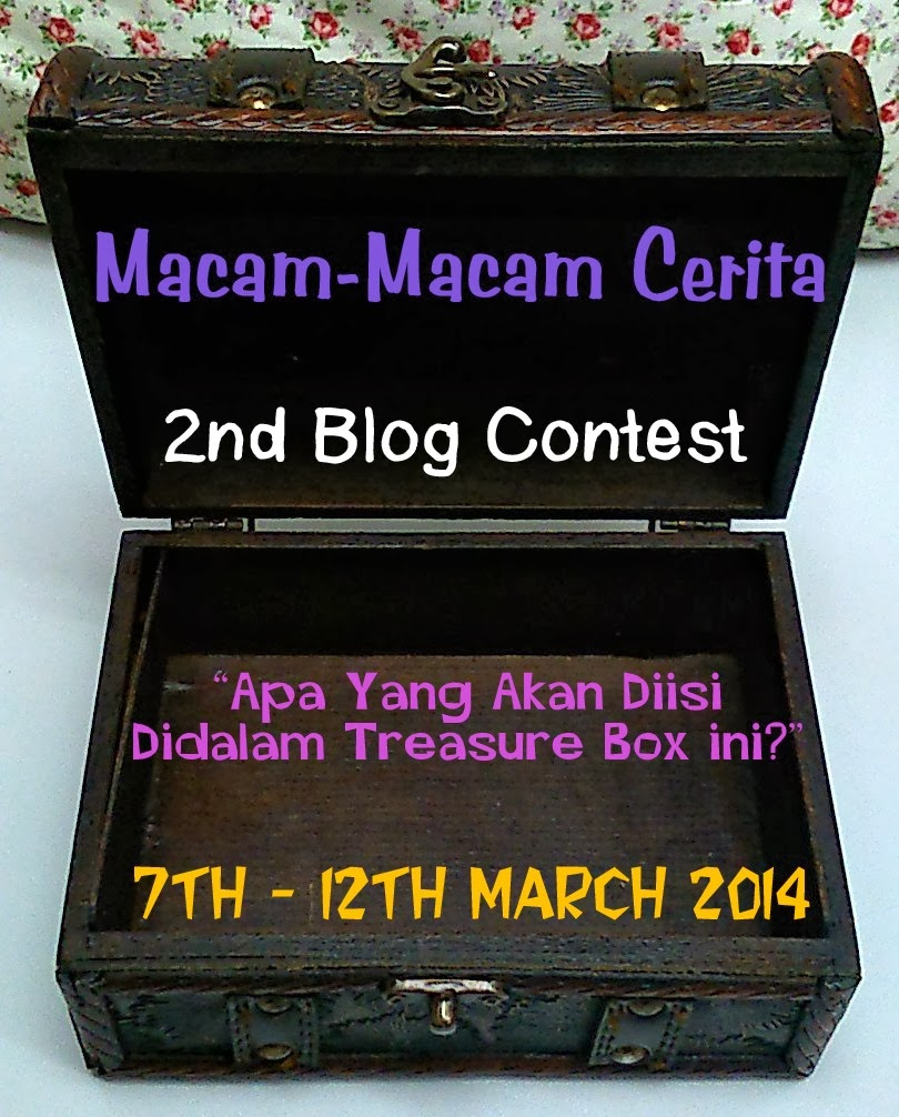 My 2nd Blog Contest