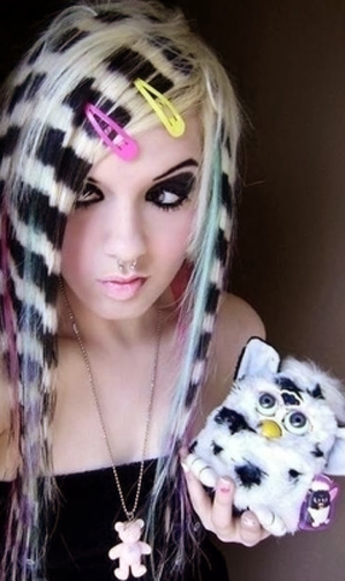 Best Style Hairpunky Beauty Girls Long Hairstyles Color Ideas