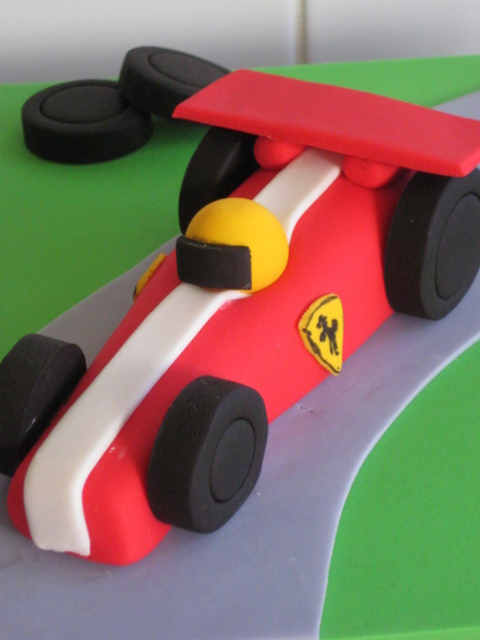 Red Racing Car Was The Obvious Choice For Ferrari mad John Id