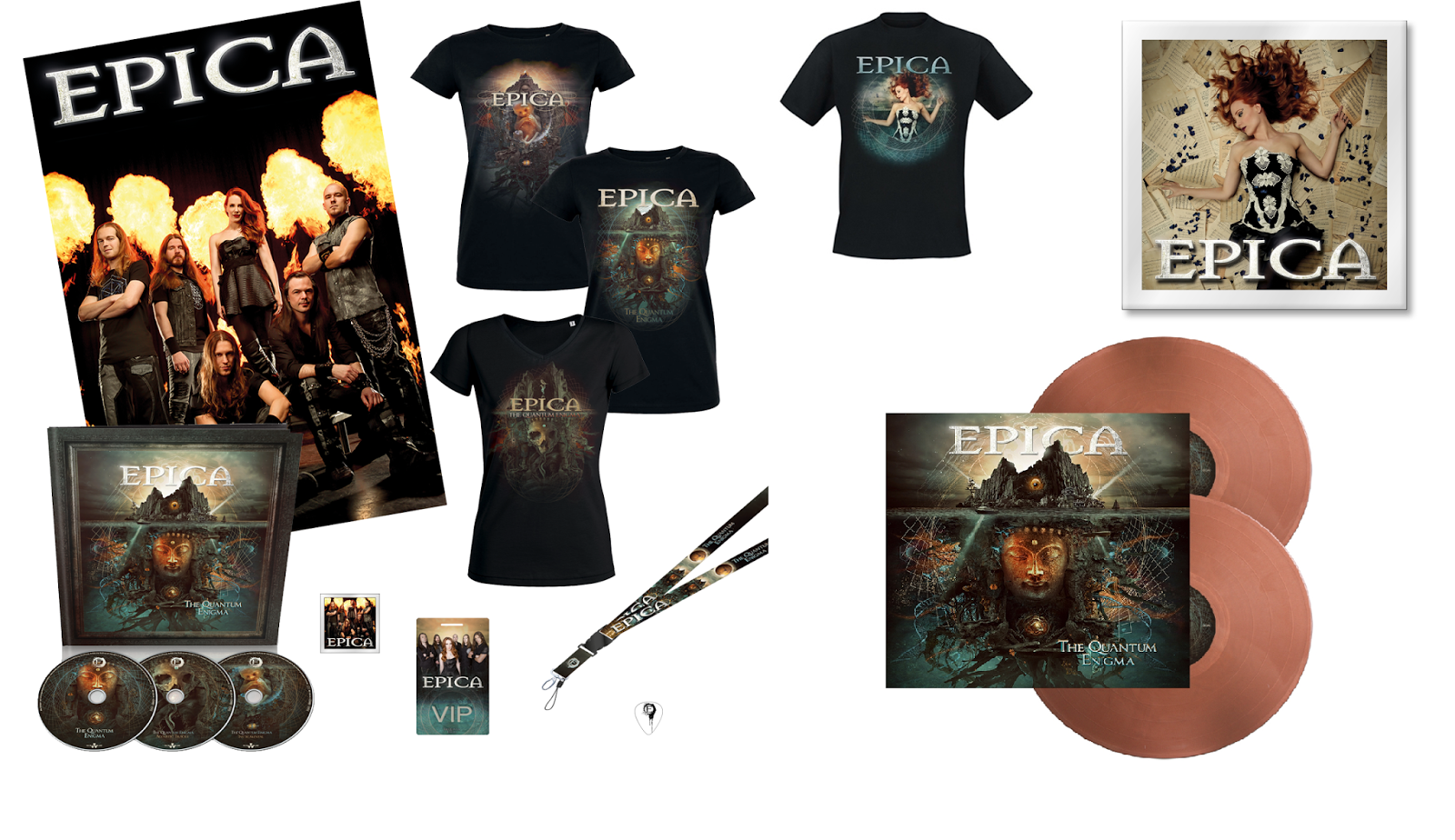 My Epica Collection New Promo Pictures Amp Merchandise