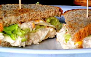 Sanduíche Saudável e  Natural