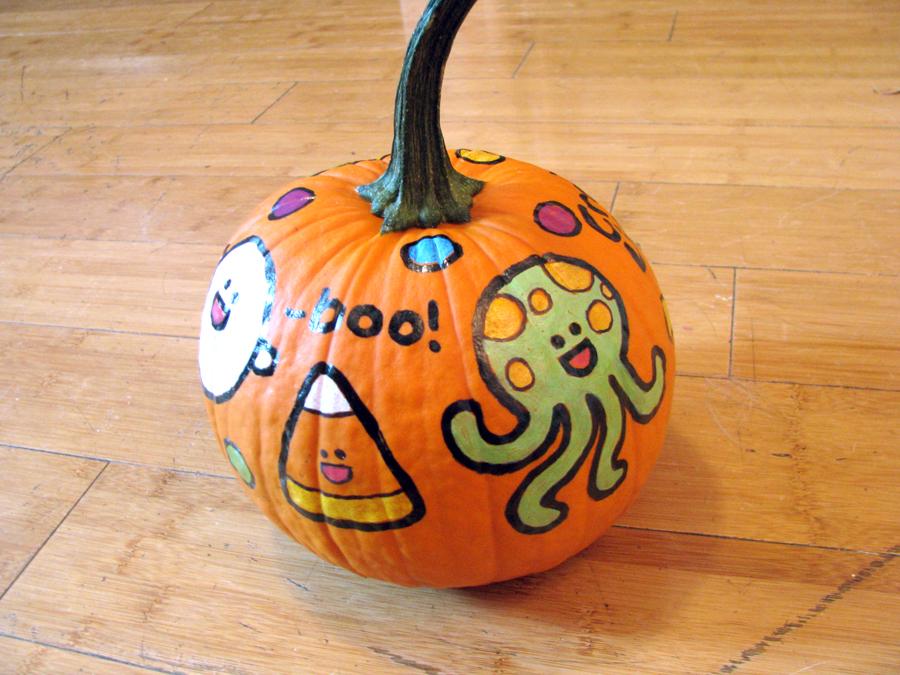 Amanda Makes Things It 39 S Pumpkin Painting Season