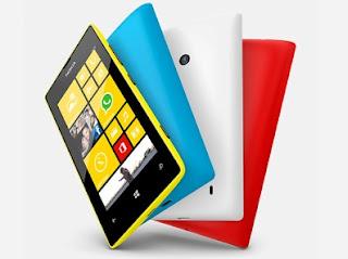 Nokia Lumia 520 : Smartphone dengan desain dua warna berbasis Windows Phone 8