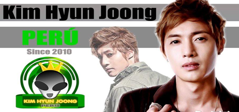 Kim Hyun Joong Perú Fanclub