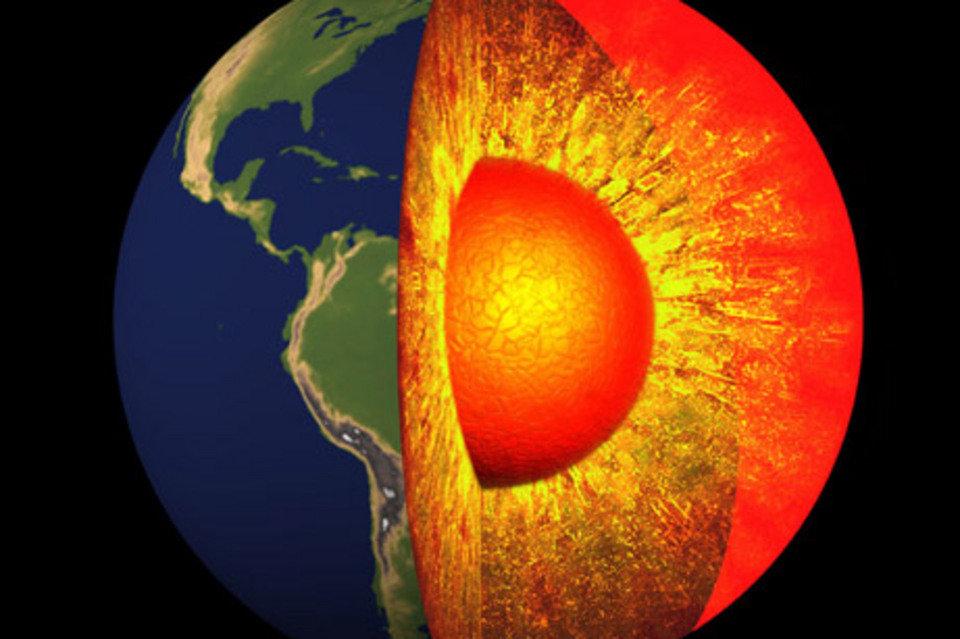 Nucleo interno de la  Tierra se formó hace más de 1000 millones de años.