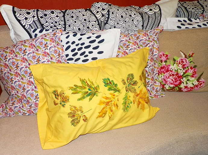 DIY Autumn pillow cases