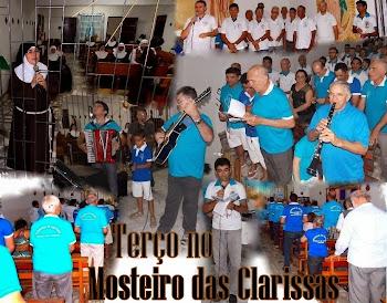 Fotos do Terço dos Homens e das Mulheres no Mosteiros das Clarissas