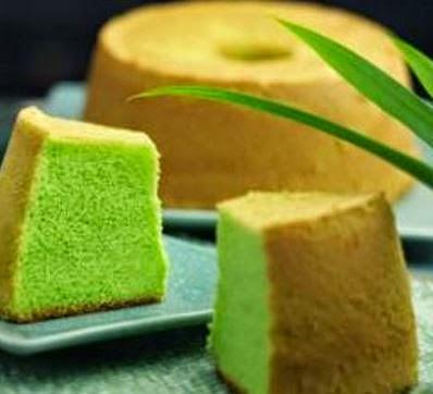 Resep Kue Bolu Pandan Lembut dan Enak