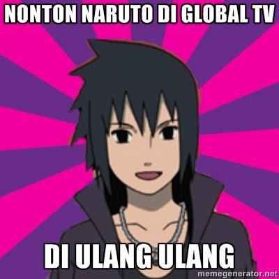 Naruto di Global TV Sudah Mencapai Titik Jenuh www.guntara.com
