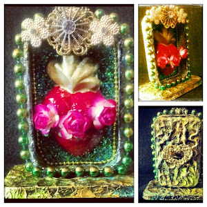 Sacred Heart Altered Tin Class