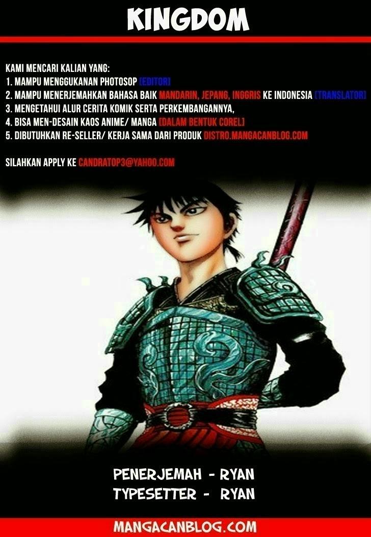 Dilarang COPAS - situs resmi www.mangacanblog.com - Komik kingdom 373 - perkembangan yang besar 374 Indonesia kingdom 373 - perkembangan yang besar Terbaru 1|Baca Manga Komik Indonesia|Mangacan