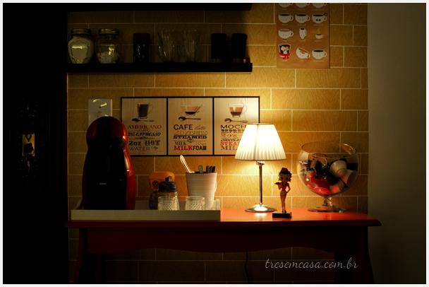 cafeteira na sala