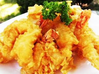resep seafood tempura, seafood, tempura, tempura seafood, resep seafood, resep tempura