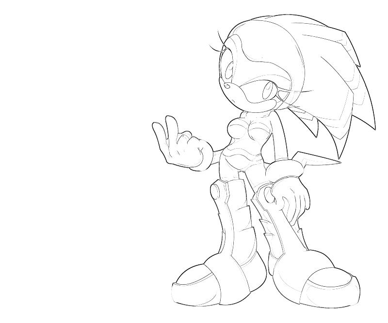 printable-shade-the-echidna-character-coloring-pages