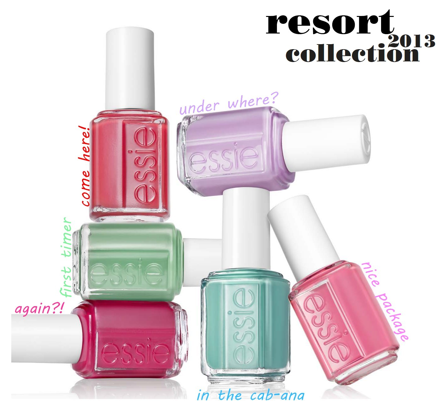 Upcoming essie collections - Nailderella