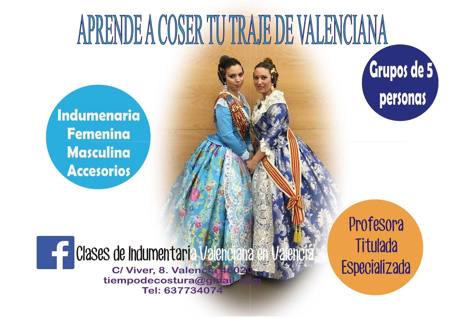 CLASES DE INDUMENTARIA VALENCIANA