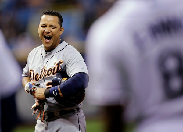 Tigers get the last laugh when Miguel Cabrera takes an intentional walk
