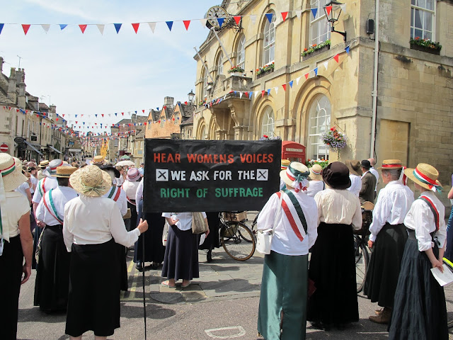 The Great 1913 Suffragist Pilgrimage corsham wiltshire