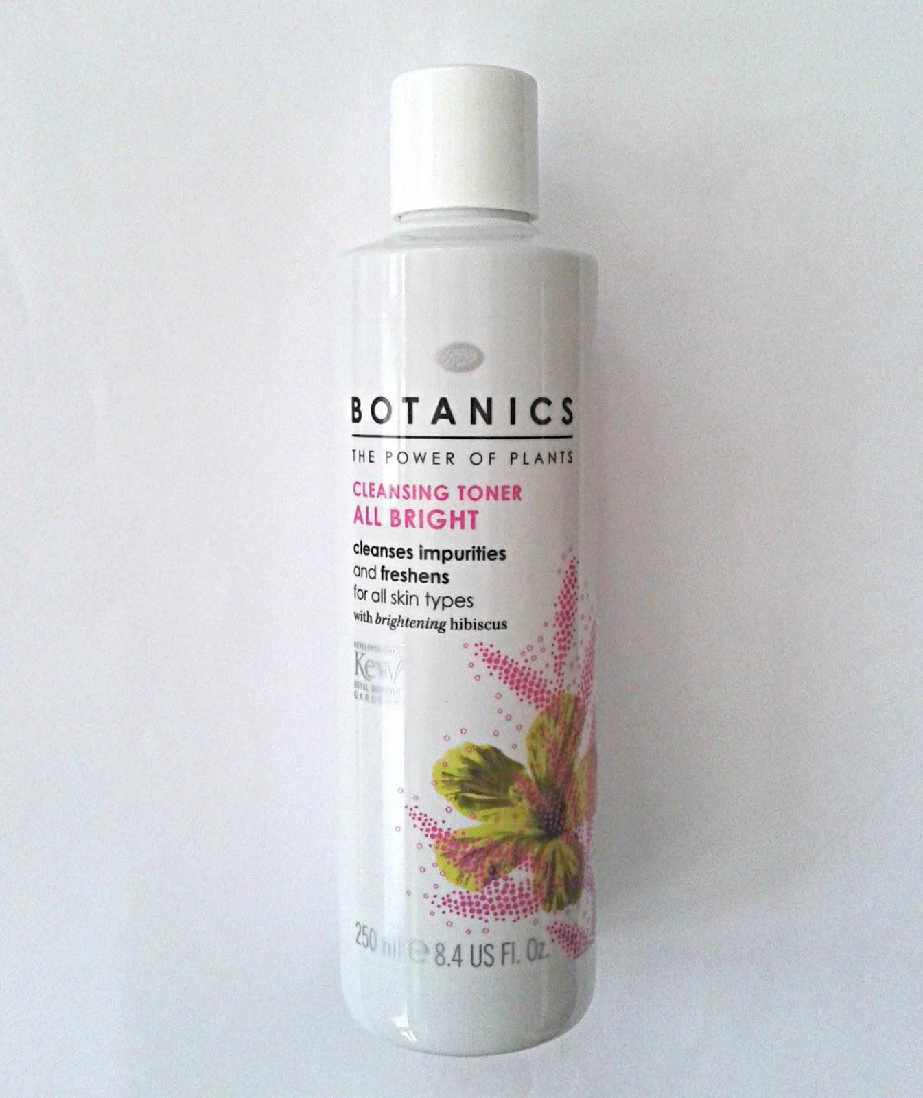 botanics cleansing toner