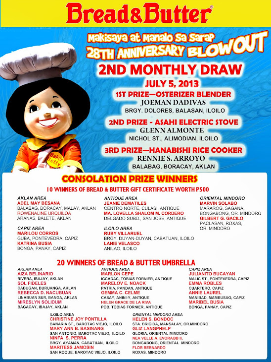 Makisaya st Manalo sa Sarap ng Bread & Butter promo