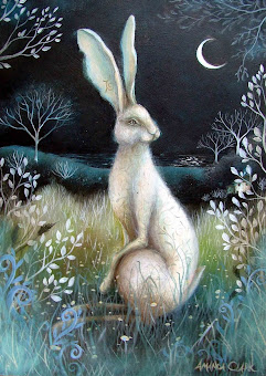 Hare by night by Amanda Clark.