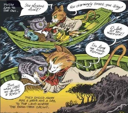 Craig Thompson's The Owl and the Pussycat