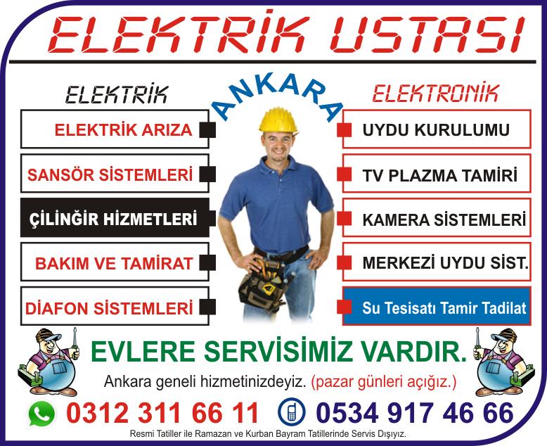 elektrikçi dikmen ankara, elektrikçi çankaya ankara