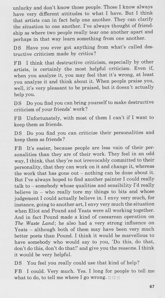 (c) David Sylvester, 1966