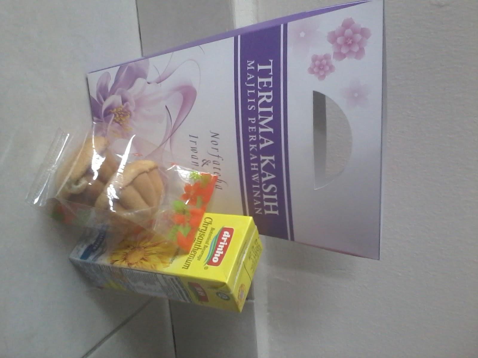 Door gift murah contoh set door gift for Idea door gift kahwin murah