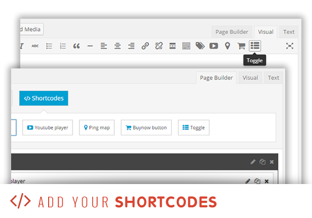 sneeit framework plugin - back-end for wordpress themes - shortcodes
