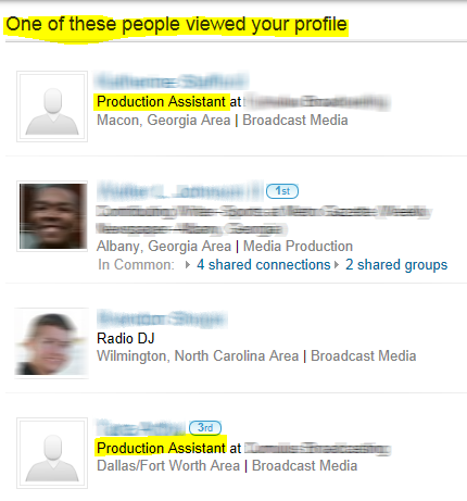 LinkedIn, one of these people viewed your profile on LinkedIn, LinkedIn profile views,
