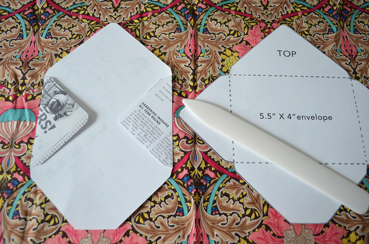 Как сделать большой конверт своими руками 69