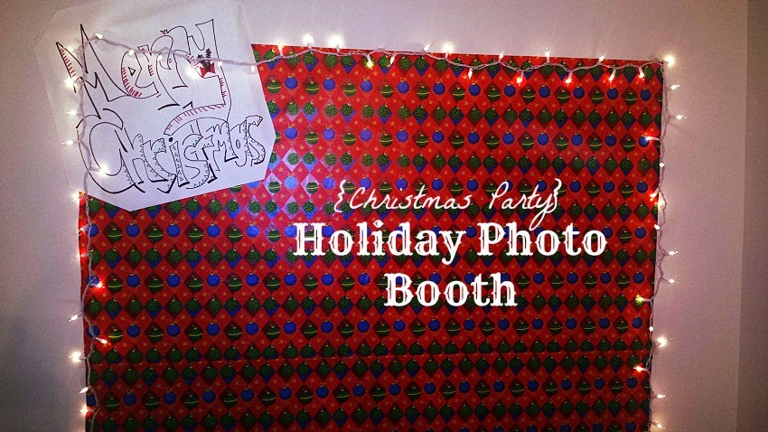 DIY holiday photo booth Cordier Events