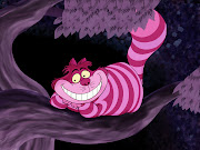 Cheshire cat has to be the base; Cat has to be wearing mad hatter's hat .