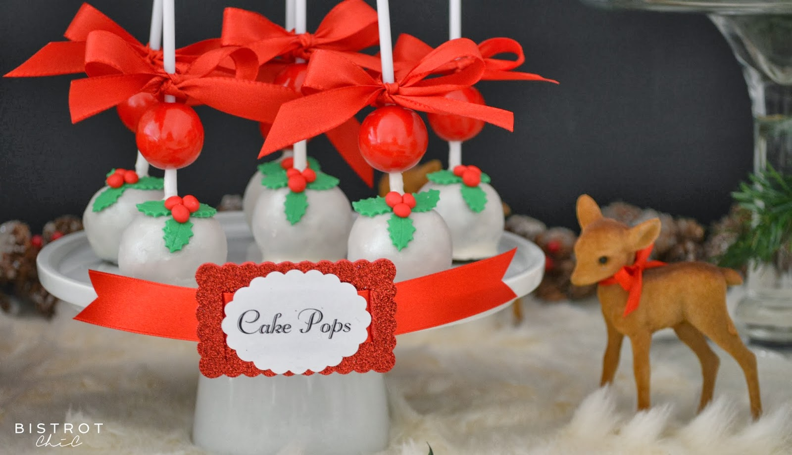 Decorated cake pops with gumballs by BistrotChic