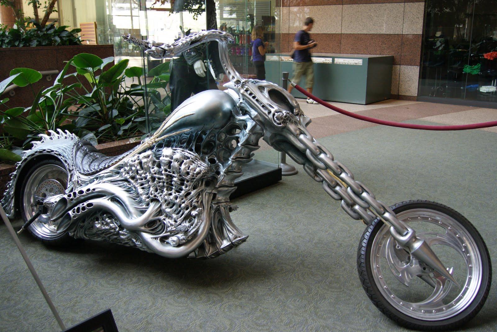 Divya Times April 24 Day 114 Ghostrider Motorbike